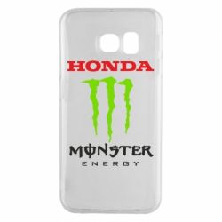 Чехол для Samsung S6 EDGE Honda Monster Energy