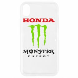 Чехол для iPhone XR Honda Monster Energy