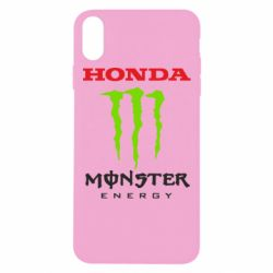 Чехол для iPhone Xs Max Honda Monster Energy