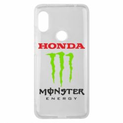 Чехол для Xiaomi Redmi Note 6 Pro Honda Monster Energy