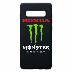 Чехол для Samsung S10+ Honda Monster Energy