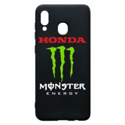 Чехол для Samsung A20 Honda Monster Energy