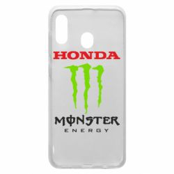 Чехол для Samsung A30 Honda Monster Energy