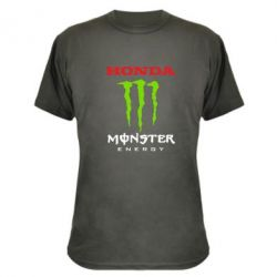 Камуфляжна футболка Honda Monster Energy