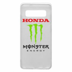 Чехол для Samsung S10 Honda Monster Energy
