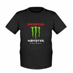 Дитяча футболка Honda Monster Energy