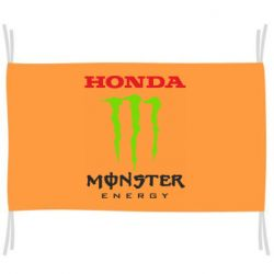 Флаг Honda Monster Energy