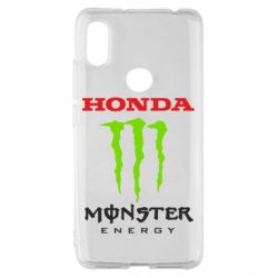 Чехол для Xiaomi Redmi S2 Honda Monster Energy