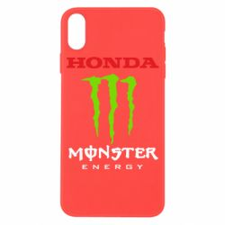 Чехол для iPhone X/Xs Honda Monster Energy
