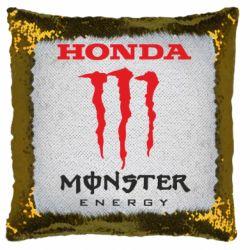 Подушка-хамелеон Honda Monster Energy
