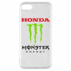 Чехол для iPhone 7 Honda Monster Energy