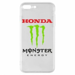 Чехол для iPhone 8 Plus Honda Monster Energy