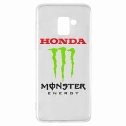 Чехол для Samsung A8+ 2018 Honda Monster Energy