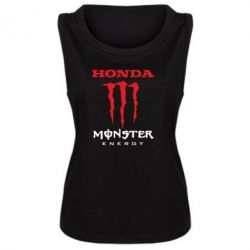 Женская майка Honda Monster Energy - FatLine