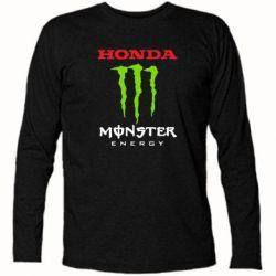 Футболка с длинным рукавом Honda Monster Energy - FatLine