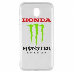 Чехол для Samsung J7 2017 Honda Monster Energy