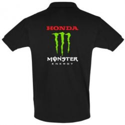 Футболка Поло Honda Monster Energy - FatLine