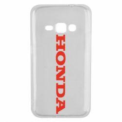 Чохол для Samsung J1 2016 Honda напис