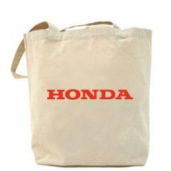 Сумка Honda надпись - FatLine