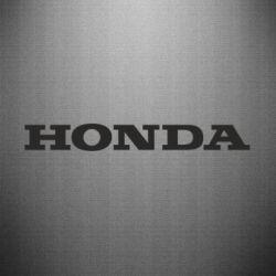 Наклейка Honda надпись - FatLine