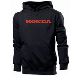 Толстовка Honda надпись - FatLine