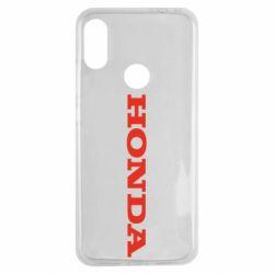 Чохол для Xiaomi Redmi Note 7 Honda напис