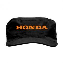 Кепка милитари Honda надпись - FatLine