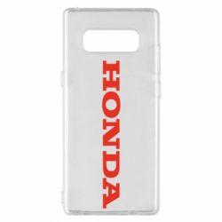 Чохол для Samsung Note 8 Honda напис
