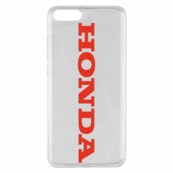 Чохол для Xiaomi Mi Note 3 Honda напис