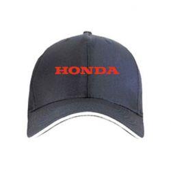 кепка Honda надпись - FatLine