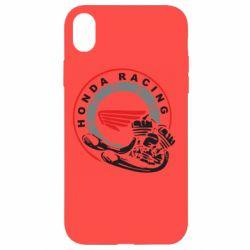 Чехол для iPhone XR Honda Racing