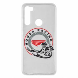 Чехол для Xiaomi Redmi Note 8 Honda Racing