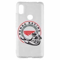 Чехол для Xiaomi Redmi S2 Honda Racing