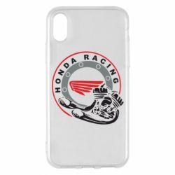 Чехол для iPhone X/Xs Honda Racing