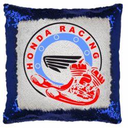 Подушка-хамелеон Honda Racing