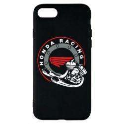 Чехол для iPhone 8 Honda Racing