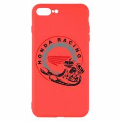 Чехол для iPhone 8 Plus Honda Racing