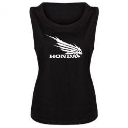 Женская майка Honda Skelet - FatLine