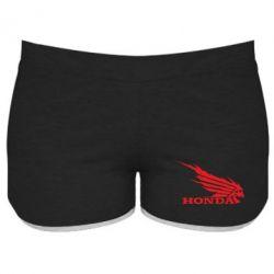 Женские шорты Honda Skelet - FatLine