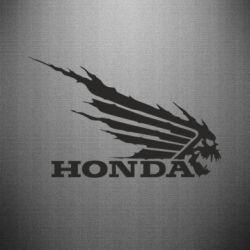 Наклейка Honda Skelet
