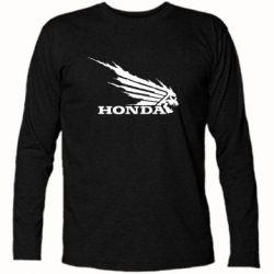 Футболка с длинным рукавом Honda Skelet - FatLine