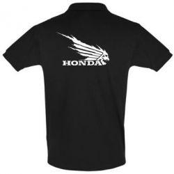 Футболка Поло Honda Skelet