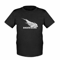 Детская футболка Honda Skelet - FatLine