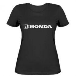 Женская футболка Honda Small Logo - FatLine