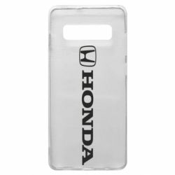 Чехол для Samsung S10+ Honda Small Logo