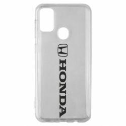 Чехол для Samsung M30s Honda Small Logo