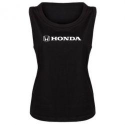 Женская майка Honda Small Logo - FatLine