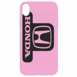 Чехол для iPhone XR Honda Stik