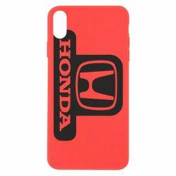 Чехол для iPhone Xs Max Honda Stik