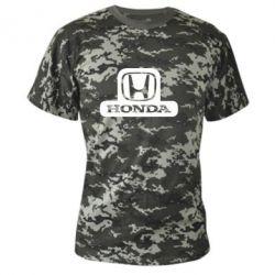 Камуфляжная футболка Honda Stik - FatLine